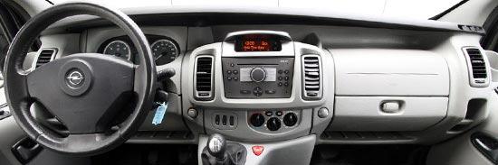 Opel vivaro financial lease tweedehands bedrijfswagen leasen for Interieur opel vivaro
