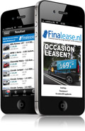 Finalease Financial lease App voor iPhone en Android scherm voorbeeld